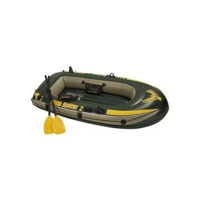 Покупка  Лодка надувная двухместная Intex Seahawk-200 Set (68347) Сихок   в магазине IntexRelax с доставкой или самовывозом