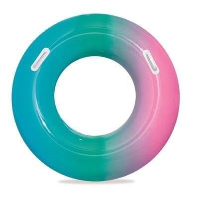 """Покупка  Надувной круг для плавания с ручками Bestway 36126 """"Радуга"""" 91 см 10+   в магазине IntexRelax с доставкой или самовывозом"""