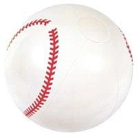 """Мяч пляжный Bestway 31004 41 см """"Бейсбол"""" белый"""