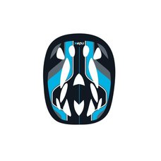 Шлем защитный Ridex Envy, голубой р.M-L