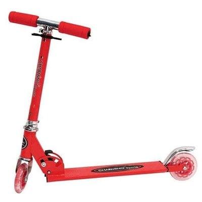 Покупка  Самокат Charming Sports CMS001 красный   в магазине IntexRelax с доставкой или самовывозом