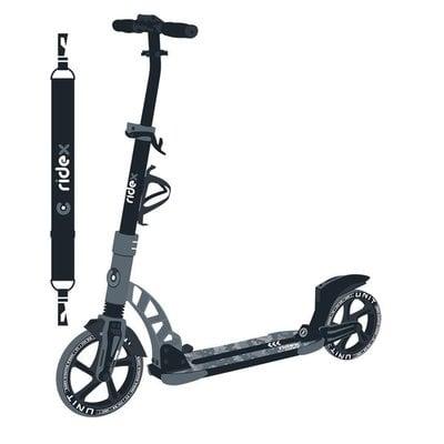 Покупка  Самокат 2-колесный Ridex Unit 230/200 мм, серый   в магазине IntexRelax с доставкой или самовывозом
