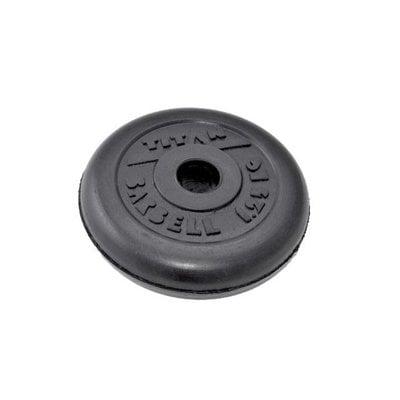 Покупка  Диск обрезиненный черный Titan Barbell d-31 1,25 кг   в магазине IntexRelax с доставкой или самовывозом