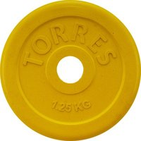 Диск обрезиненный Torres 1,25 кг d-26мм арт.PL50381