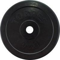 Диск обрезиненный Torres 5 кг d-26 арт.PL50705