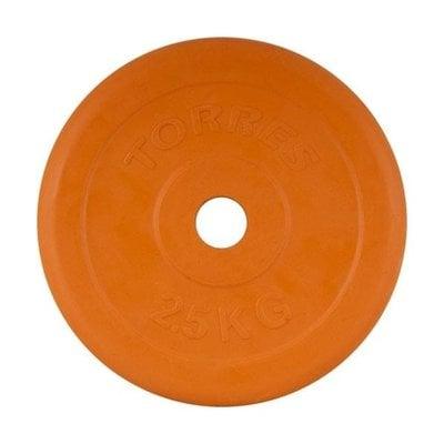 Покупка  Диск обрезиненный Torres арт.PL50392 d-26 2,5 кг   в магазине IntexRelax с доставкой или самовывозом