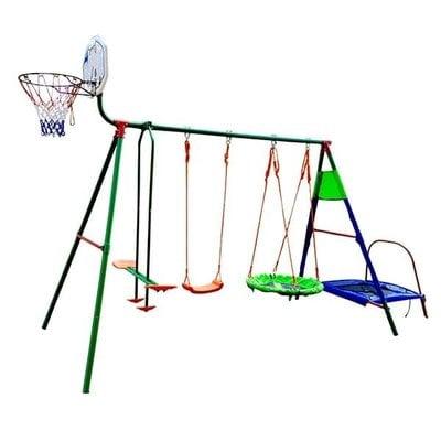 Покупка  Детский комплекс с батутом и баскетболом DFC MTB-01   в магазине IntexRelax с доставкой или самовывозом