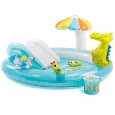 """Детский надувной игровой центр Intex 57129NP """"Gator Inflatable Play Center"""" 3+"""