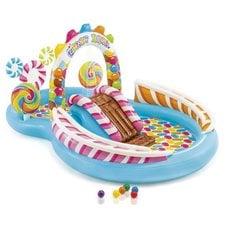 """Детский надувной игровой центр Intex 57149NP """"Candy Zone Play Center"""" 3+ 295х191х130 см"""
