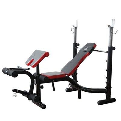 Покупка  Силовая скамья со стойками DFC D3101   в магазине IntexRelax с доставкой или самовывозом