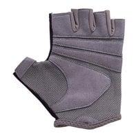 Перчатки для фитнеса StarFit SU-127 черный/серый р.M