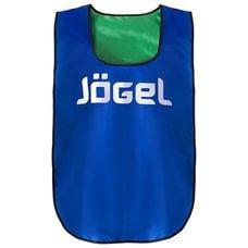 Манишка двухсторонняя Jogel JBIB-2001 детская, синий/зеленый