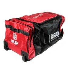 Сумка-баул спортивная BIG BOY Comfort Line 28 арт.БУ-00000034 черно-красно-белый