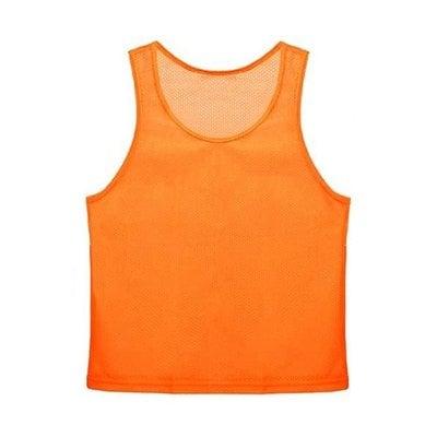 Покупка  Манишка сетчатая юношеская, оранжевая   в магазине IntexRelax с доставкой или самовывозом