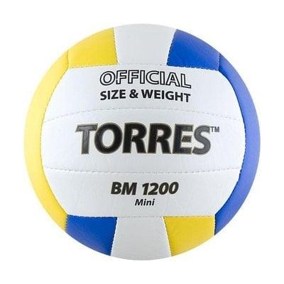 Покупка  Мяч волейбольный сувенирный Torres BM1200 Mini арт.V30031 р.1   в магазине IntexRelax с доставкой или самовывозом