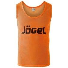 Манишка сетчатая Jogel JBIB-1001 взрослая, оранжевый р.44-46