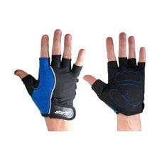 Перчатки для фитнеса STARFIT SU-108 синие/черные р.XL