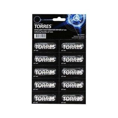 Покупка  Иглы для насоса Torres арт.SS5023 уп. 10 шт   в магазине IntexRelax с доставкой или самовывозом