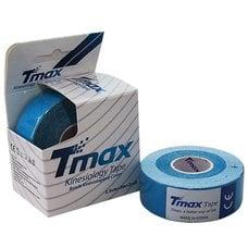 Тейп кинезиологический Tmax Extra Sticky Blue (2,5 см x 5 м) уп.2 шт арт.423822, синий