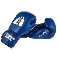 Перчатки боксерские Green Hill Super Star арт. BGS-1213c-10-BL, 10 унций (синие)