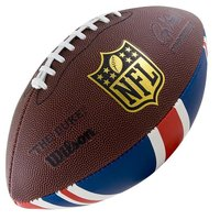 Мяч для американского футбола WILSON NFL Team Logo арт.WTF1748XBLGUJ