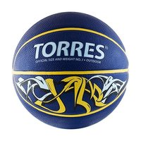 Мяч баскетбольный Torres Jam арт.B00043 р.3