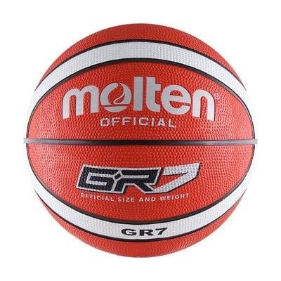 Покупка  Мяч баскетбольный MOLTEN BGR7-RW р.7   в магазине IntexRelax с доставкой или самовывозом
