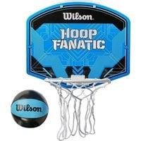 Набор для мини-баскетбола Wilson Hoop Fanatic Mini hoop kit арт.WTBA00436