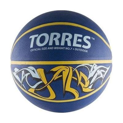 Покупка  Мяч баскетбольный Torres Jam арт.B00047 р.7   в магазине IntexRelax с доставкой или самовывозом