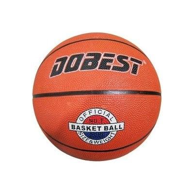 Покупка  Мяч баскетбольный DOBEST RB7-0886 р.7 резина, оранжевый   в магазине IntexRelax с доставкой или самовывозом