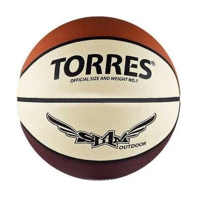 Покупка  Мяч баскетбольный TORRES Slam №7   в магазине IntexRelax с доставкой или самовывозом