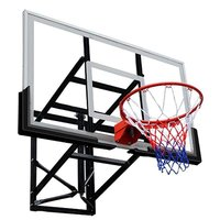 Баскетбольный щит DFC BOARD72G 180х105см стекло 10мм