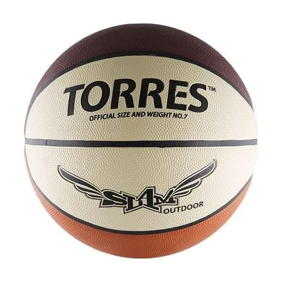 Покупка  Мяч баскетбольный Torres Slam арт.B00067 р.7   в магазине IntexRelax с доставкой или самовывозом