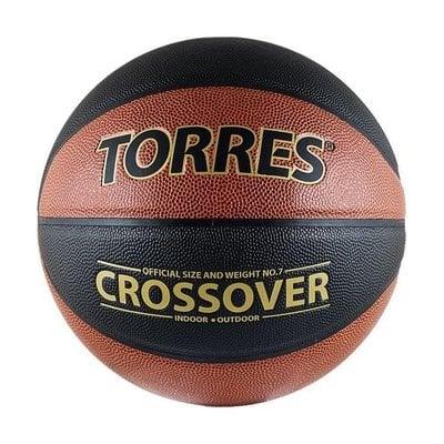 Покупка  Мяч баскетбольный Torres Crossover арт.B30097 р.7   в магазине IntexRelax с доставкой или самовывозом