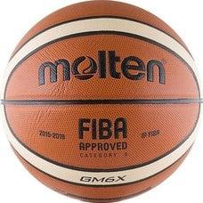 Мяч баскетбольный MOLTEN BGM6X р.6