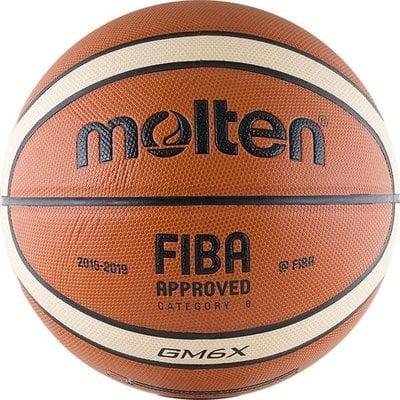 Покупка  Мяч баскетбольный MOLTEN BGM6X р.6   в магазине IntexRelax с доставкой или самовывозом
