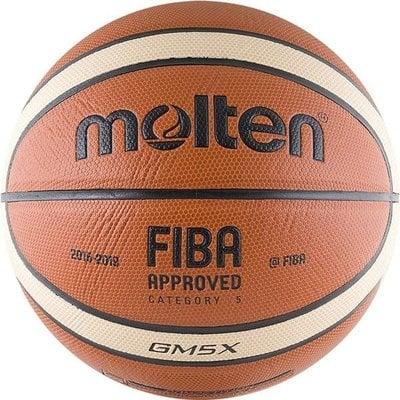 Покупка  Мяч баскетбольный MOLTEN BGM5X р.5   в магазине IntexRelax с доставкой или самовывозом