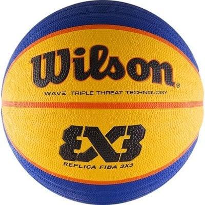 Покупка  Мяч баскетбольный для стритбола WILSON FIBA3x3 Replica арт.WTB1033XB р.6   в магазине IntexRelax с доставкой или самовывозом