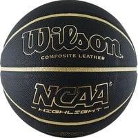 Мяч баскетбольный WILSON NCAA Highlight Gold арт.WTB067519XB07 р.7