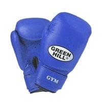 Перчатки боксерские Green Hill GYM BGG-2018 14 унций кожа синие