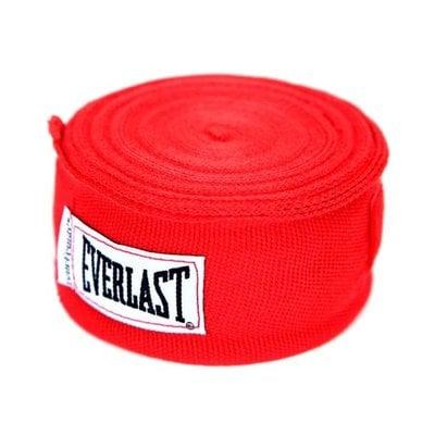 Покупка  Бинт боксерский Everlast 4465RD 2.5 м красный   в магазине IntexRelax с доставкой или самовывозом