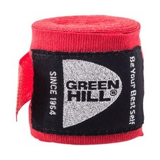 Бинт боксерский Green Hill BP-6232c 3,5м красный