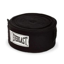 Бинт боксерский Everlast 4463BK 2.5 м черный