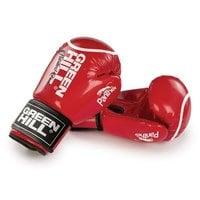 Перчатки боксерские Green Hill Panther BGP-2098 10 унций кожа красные