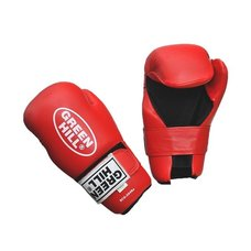Накладки для карате 7-contact Green Hill SCG-2048 красные р.M