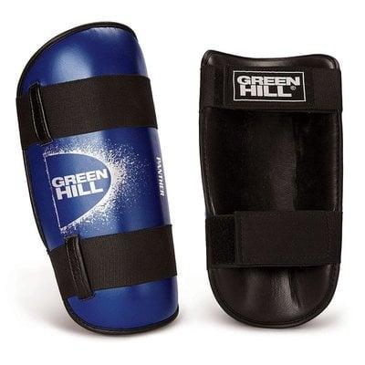 Покупка  Защита голени Green Hill Panther SPP-2124-L-BL р.L синие   в магазине IntexRelax с доставкой или самовывозом