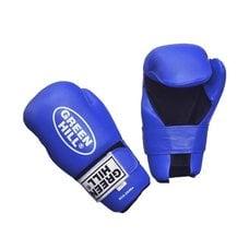 Накладки для карате 7-contact Green Hill SCG-2048 синие р.S