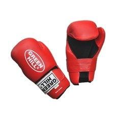 Накладки для карате 7-contact Green Hill SCG-2048 красные р.S