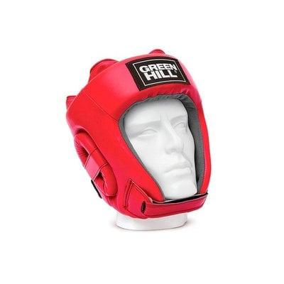 Покупка  Шлем открытый Green Hill Training HGT-9411, красный р.XL   в магазине IntexRelax с доставкой или самовывозом