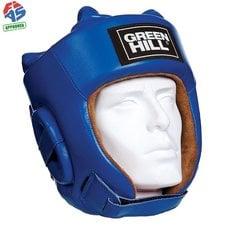 Шлем Green HillL Five Star HGF-4013-L-BL р.L кожа, синий